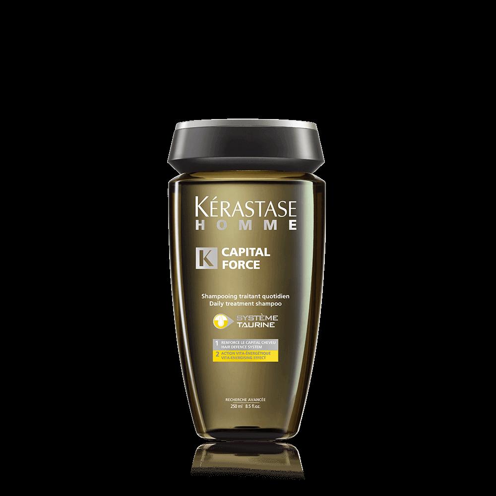 HOMME BAIN CAPITALFORCE VITA-ENERGETIQUE (Shampoo) 250 ml